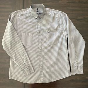 Men's RVCA long sleeve button down